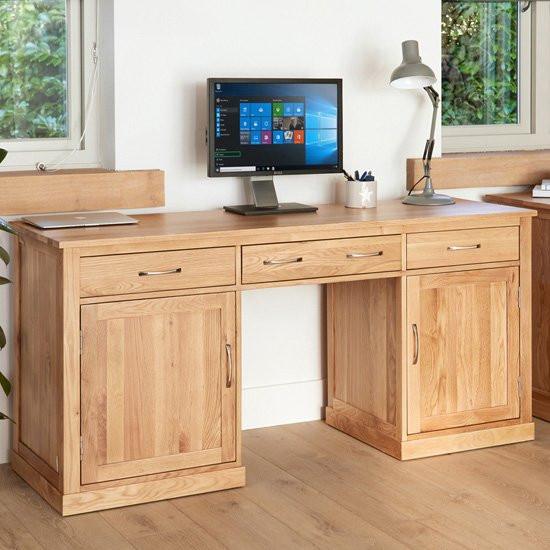 Fornatic Computer Desk In Mobel Oak
