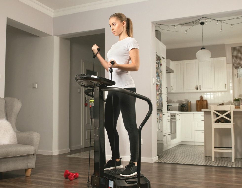 The Pro Vibration Plate
