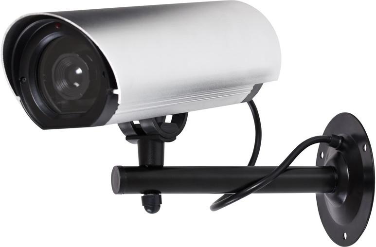 ProperAV Large Dummy Security Camera Alu