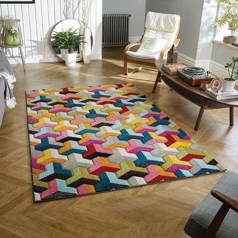 PICCADILLY 531X Multi Rug