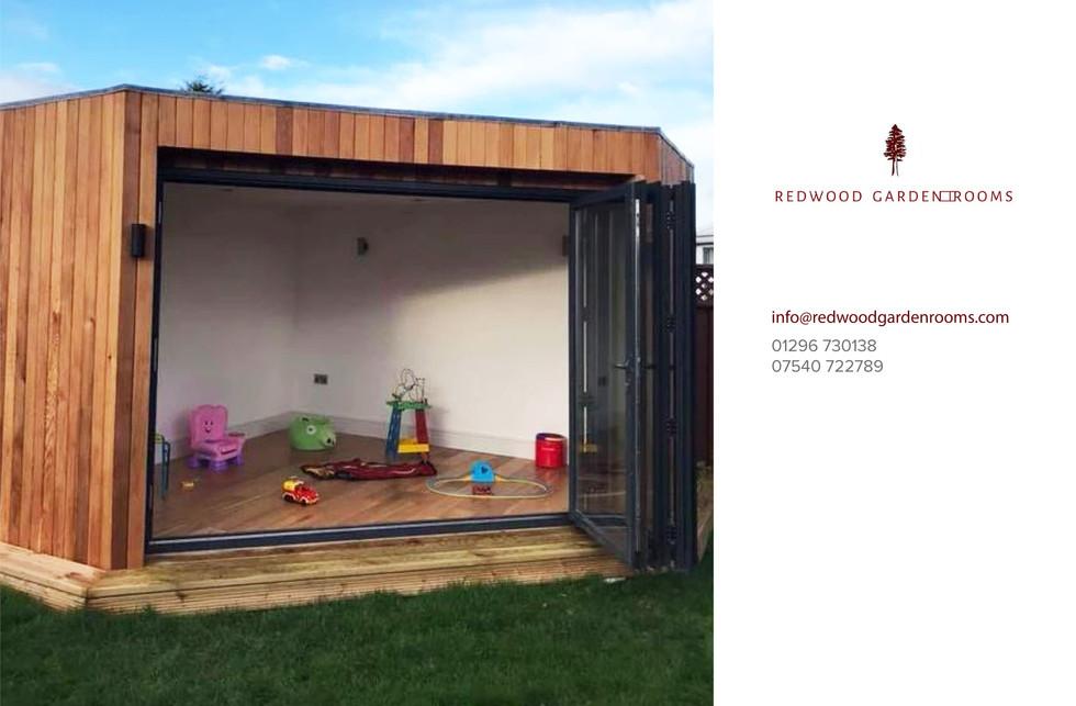 Redwood Garden Rooms - The Corner Room