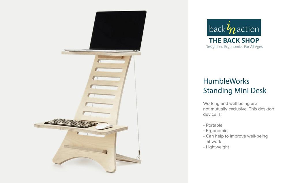 Back in Action - HumbleWorks Standing Mini Desk