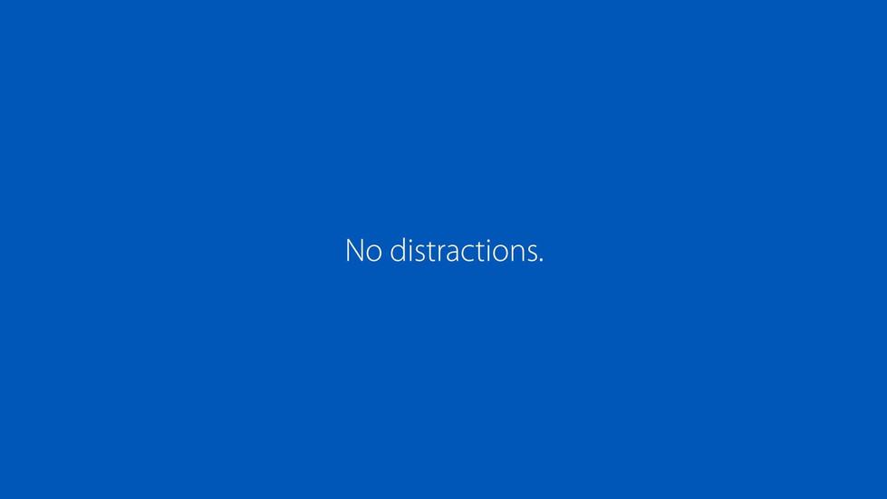 WPA - No Distractions