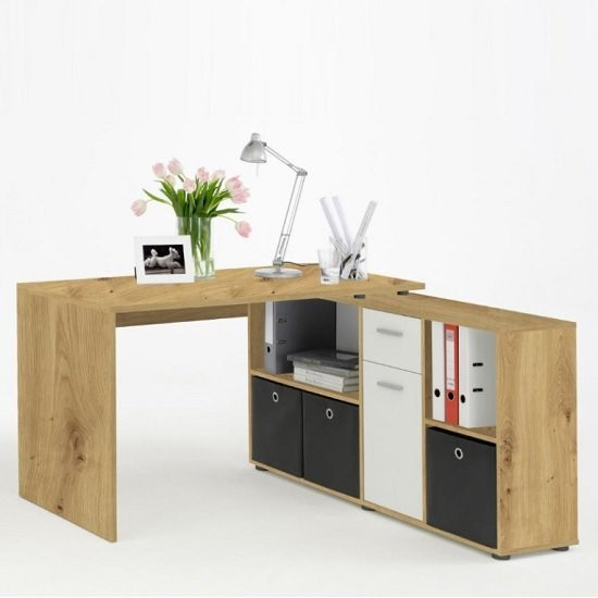 Flexi Wooden Corner Computer Desk
