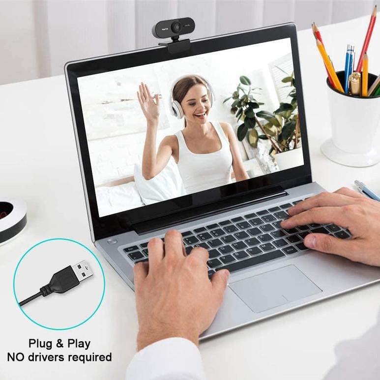 PRAKTICA Webcam Full HD Auto Focus USB-A