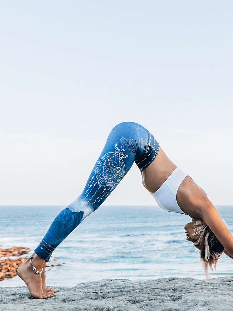 Eco Recycled Leggings - Pachamama Print