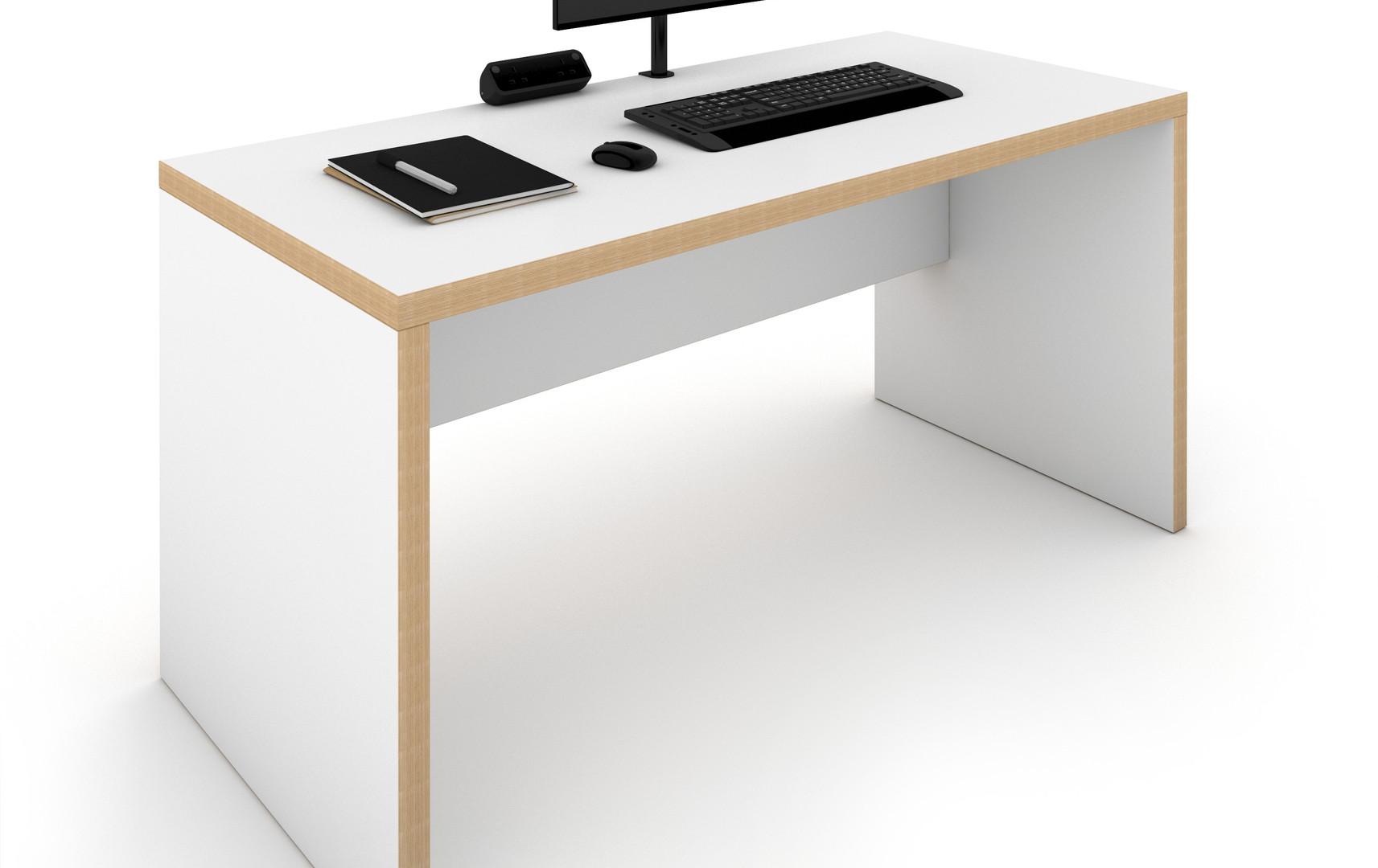 Panel End Desk 1400 x 700 MFC Finish