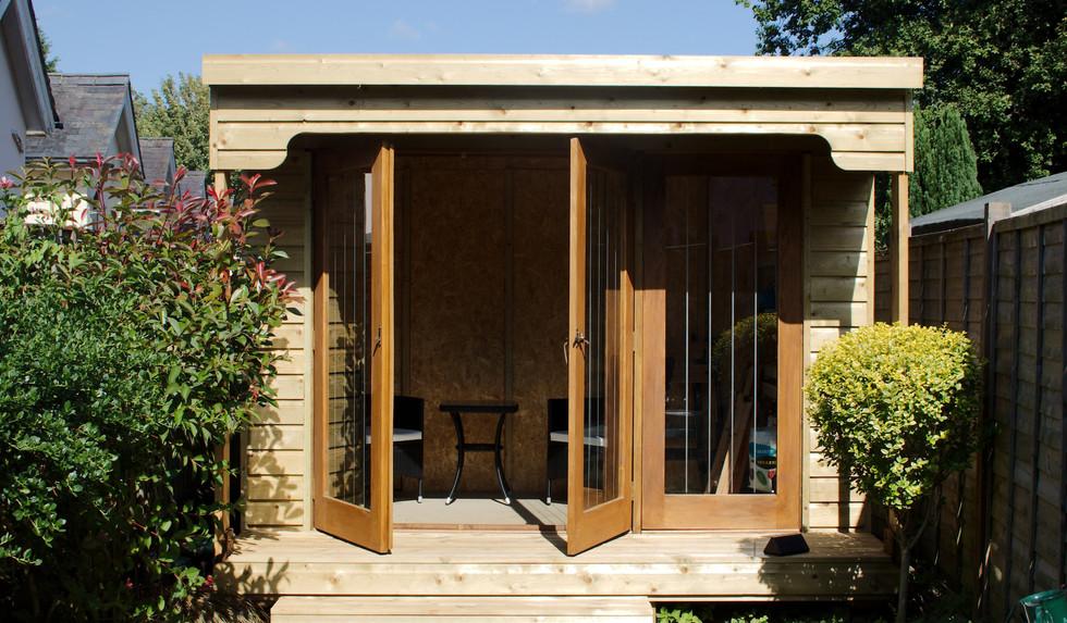 Studio Garden Room - Doors Open