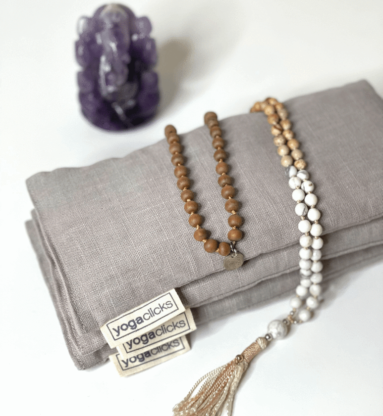 Plain Linen Lavender Eye Pillow