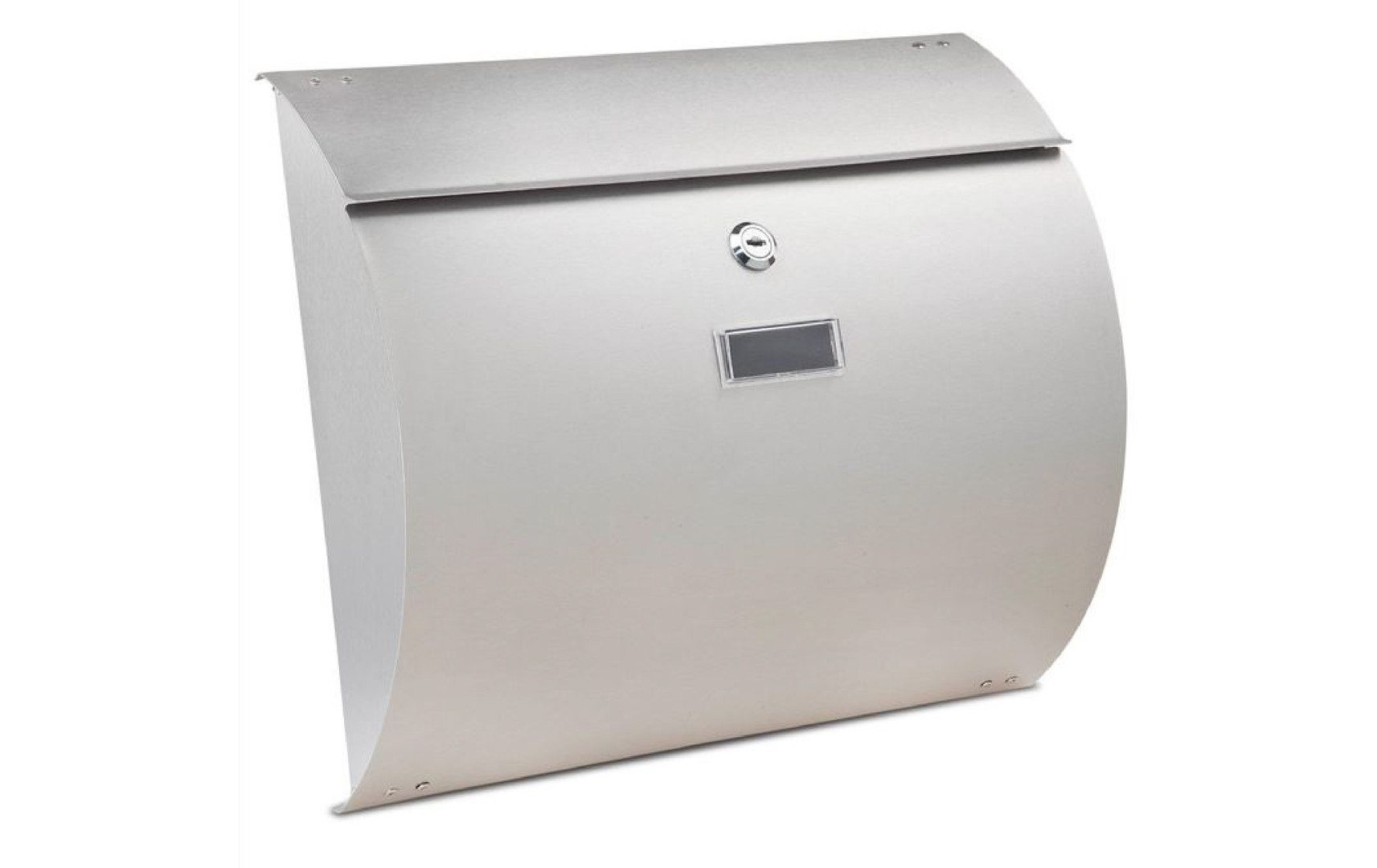 Burton Convex Stainless Steel Post Box.J