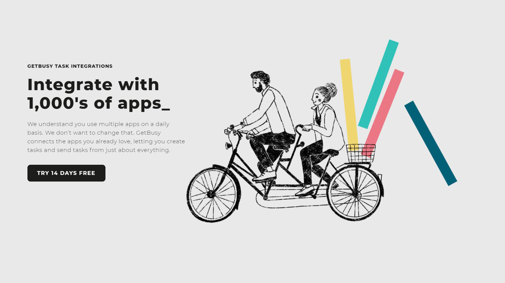 Integrate with 1000s of apps