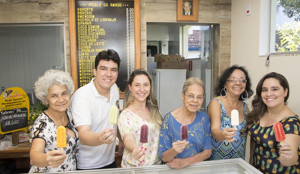 Picolé do Amado BH - Inauguração