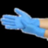 50pcs-box-Blue-Nitrile-Disposable-Gloves