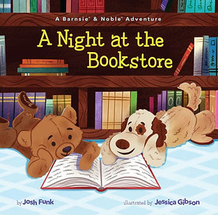 A Night at the Bookstore - A Barnsie & Noble Adventure by Josh Funk and Jessica Gibson, Barnes & Noble