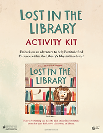 Lost in the Library Activity Kit Image.p