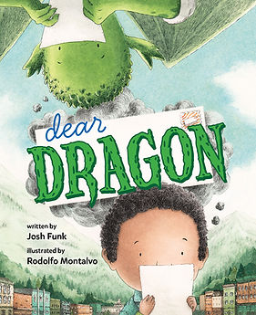 Dear Dragon by Josh Funk & Rodolfo Montalvo