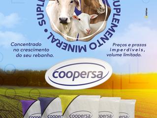 Campanha de Suplemento Mineral 2021 da Coopersa já começou.