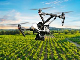 Enxame de drones é a tendência para monitorar o campo