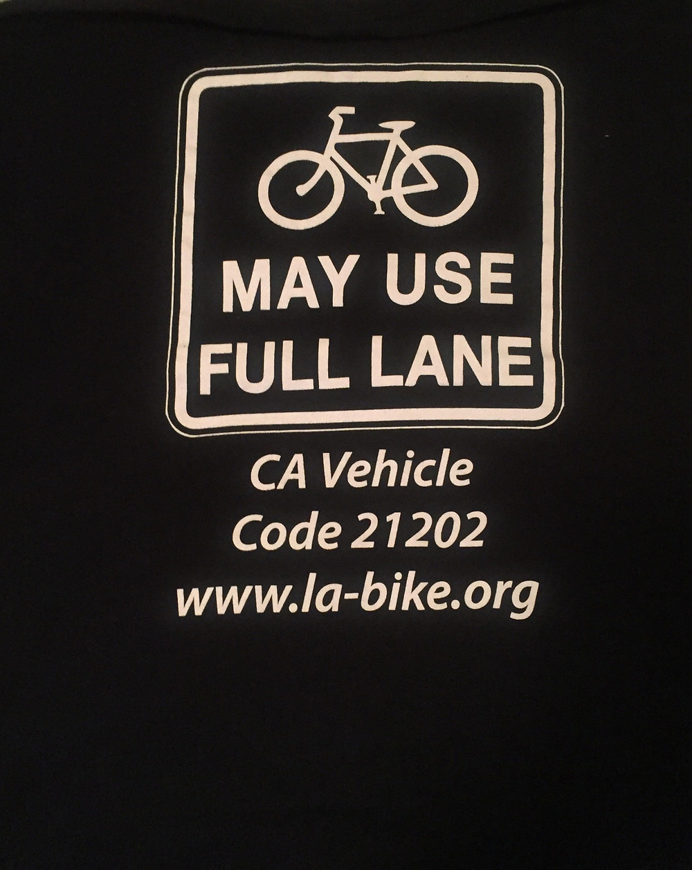 MAY USE FULL LANE TSHIRT