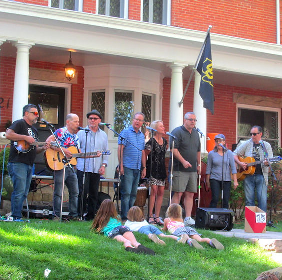 Lefthand Canyon Singers, PorchFest Sept