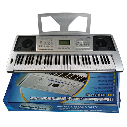 Huntington 61 Key Electric Keyboard Piano