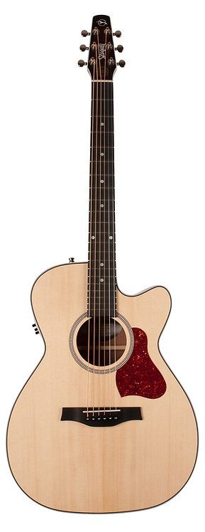 Seagull 046447 Maritime SWS Concert Hall CW QIT Electric Acoustic Guitar