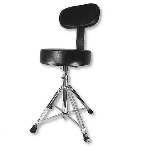 Heavey Duty Four-Leg Round-Seat Drum Throne with Backrest
