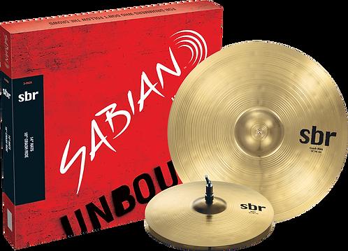 Sabian SBR 2 Pack 14″ Hi Hats, 18″ Crash Ride