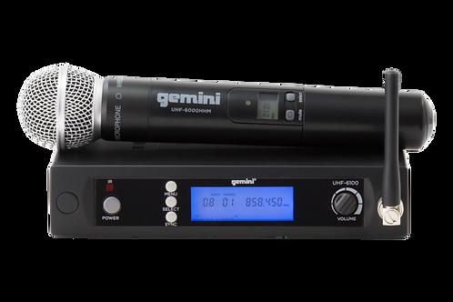 Gemini UHF-6100 M Wireless Handheld Microphone System