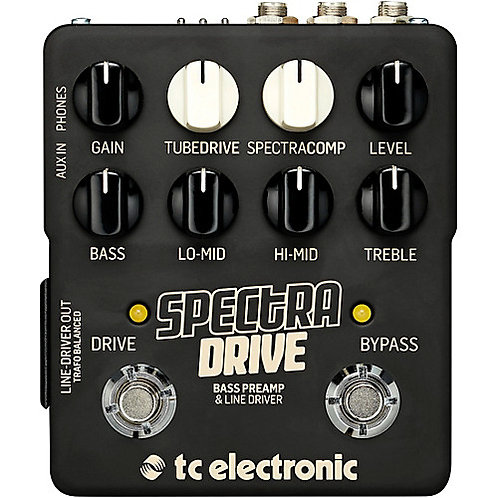TC Electronic Spectra Drive Bass Preamp Effects Pedal