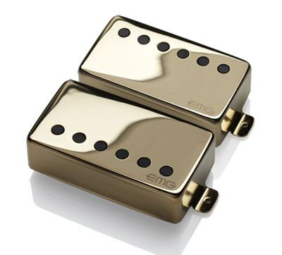 "EMG JH ""HET"" Set (James Hetfield Signature Pickup Set) - GOLD"