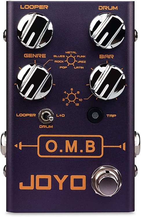 JOYO R-06 OMB Drum+Looper Guitar Effect Pedal