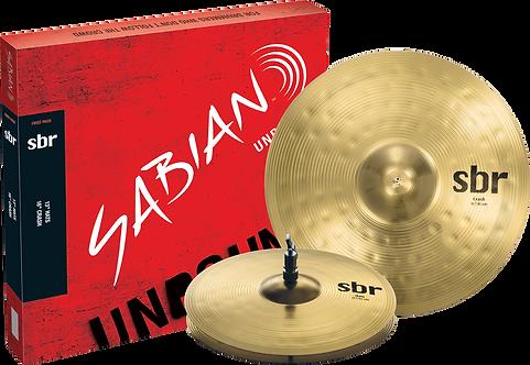 Sabian SBR 2 Pack 13″ Hi Hats, 16″ Crash