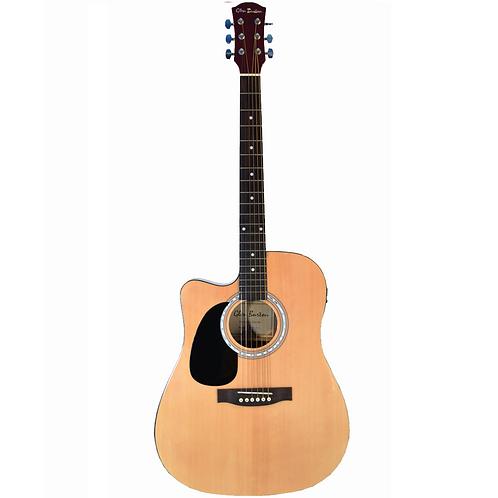 Glen Burton Left Handed Cutaway Acoustic Electric Guitar