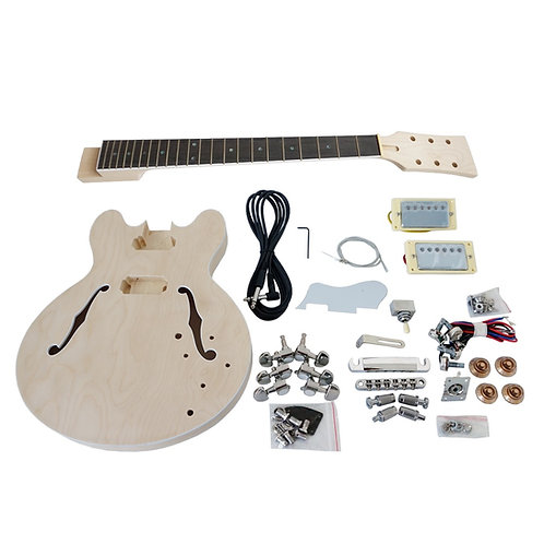 Custom 335 Jazz Electric Guitar DIY Kit