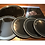 Thumbnail: EBONY 2 PLY DRUM HEADS (BATTER)