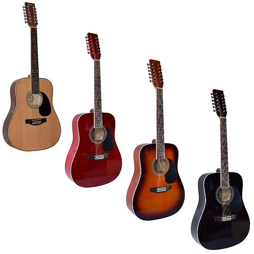 Madera W4122 Acoustic 12-String Guitar