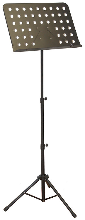 Music Stand Foldable Tripod Stand Black