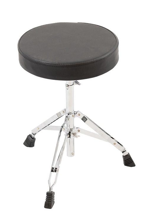 High Quality Durable Double Braced Drum Stool Round