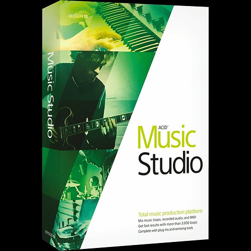 ACID Music Studio Total Recording, Mixing, Looping + More Software (Magix /Sony)