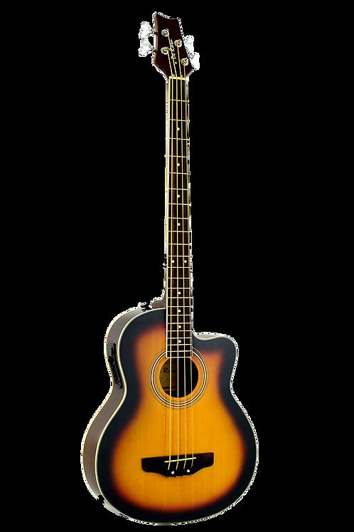Glen Burton Deluxe Acoustic Electric Bass  4 String