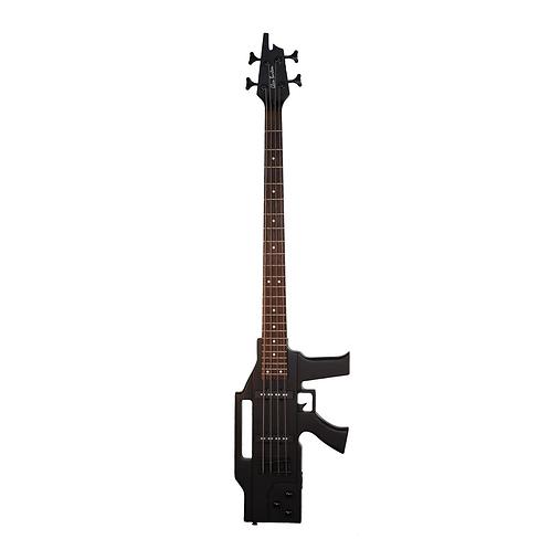 Glen Burton AK47 Machine Gun Electric Bass - 4 String