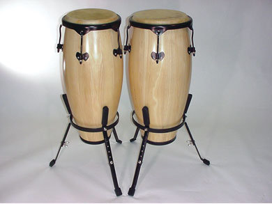 Full Size Wood Conga Set