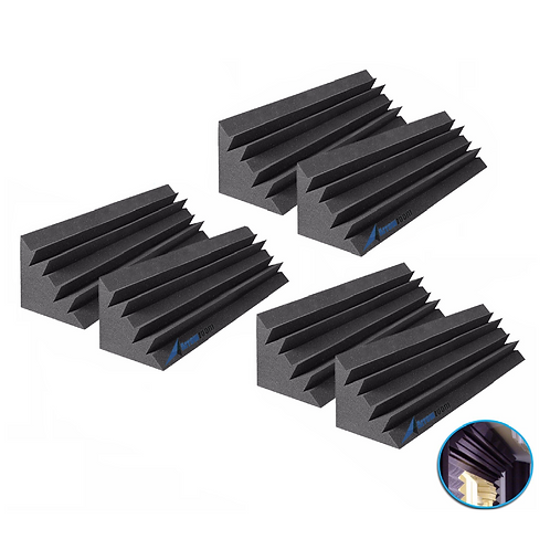 18 inches Black Charcoal Insulation X-Long Bass Traps