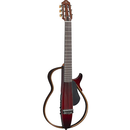 Yamaha SLG200N Silent Guitar - Crimson Red Burst