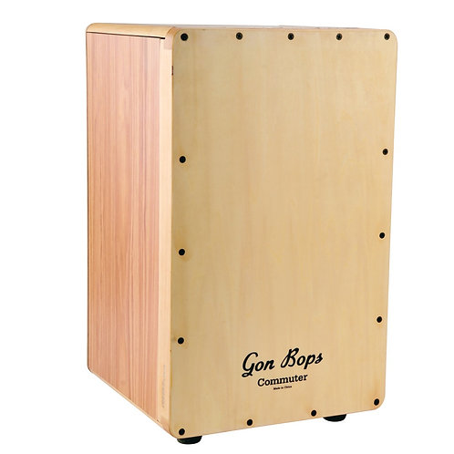 Gon Bops Commuter Cajon Includes Free Carry Case