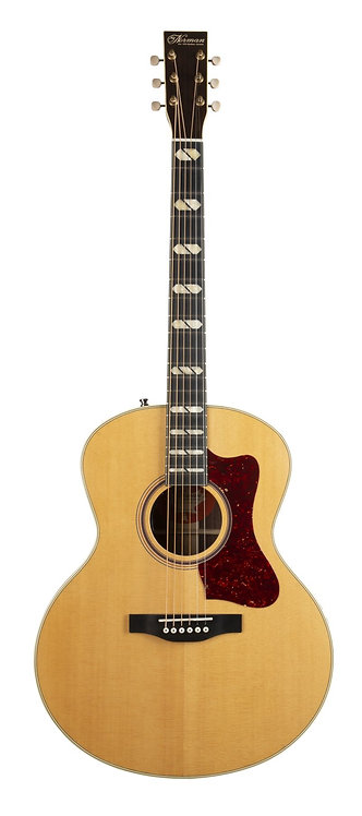 Norman ST68 Studio Series Mini Jumbo Acoustic Electric Guitar with Tric Case