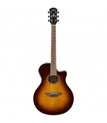 Yamaha APX600FM Acoustic Electric w/Cutaway - Flame Maple Tobacco Brown Sunburst