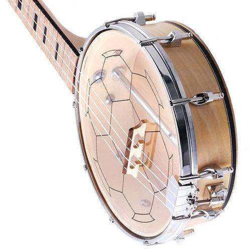 Deluxe Maple Banjo Ukulele - Banjolele