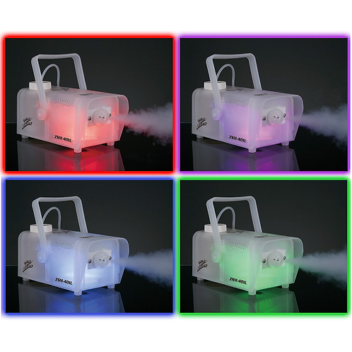 TRANSLUCENT LED FOG MACHINE With Remote